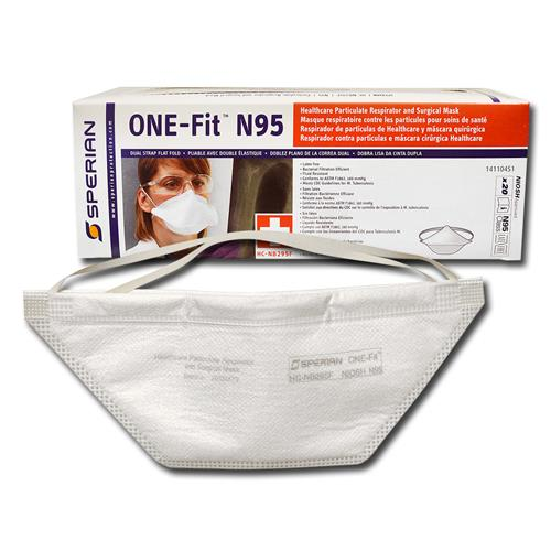 Wholesale 20pk N95 PARTICULATE RESPIRATOR & SURGICAL MASK