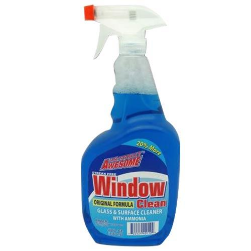 Wholesale 40oz AWESOME GLASS CLEANER, BLUE BONUS