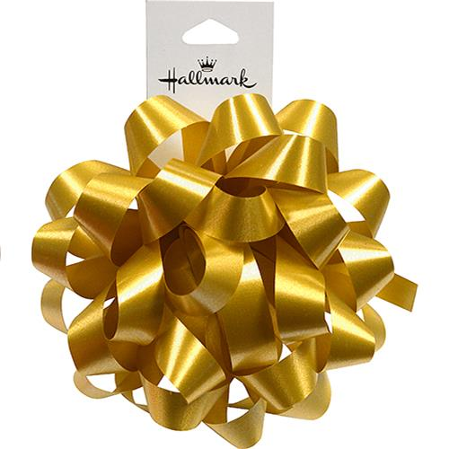 "Wholesale 4"" GOLD GIFT BOW"