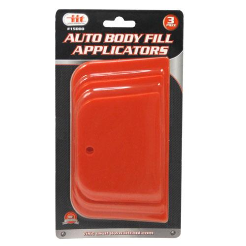 Wholesale 3pc AUTO BODY FILL APPLICATORS