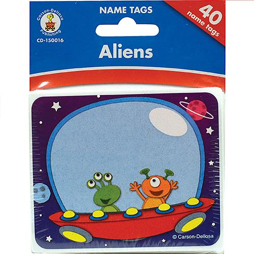Wholesale ALIENS NAMETAGS