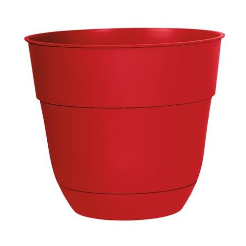 "Wholesale 15"" PLASTIC PLANTER -RED COLOR"