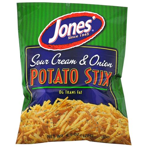 Wholesale Jones Sour Cream & Onion Potato Stix