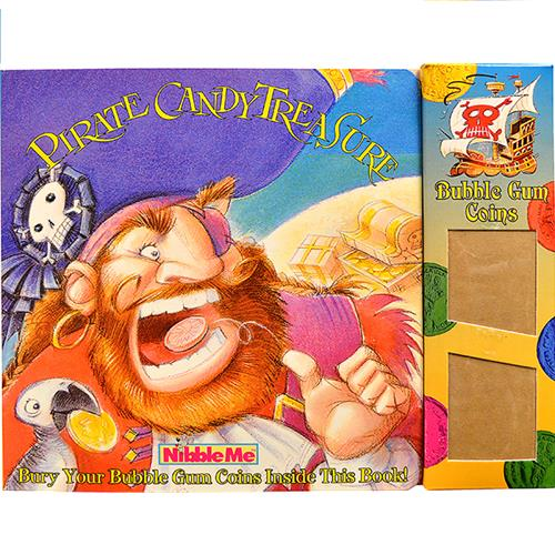 Wholesale PIRATE CANDY TREASURE BOOK