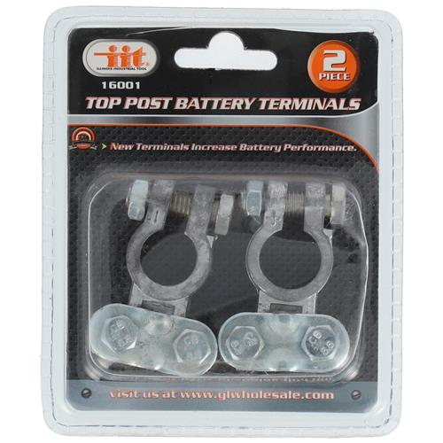 Wholesale 2PC TOP POST BATTERY TERMINALS