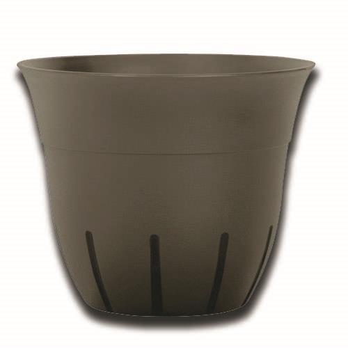"Wholesale 16"" BELL PLANTER DARK TAUPE"