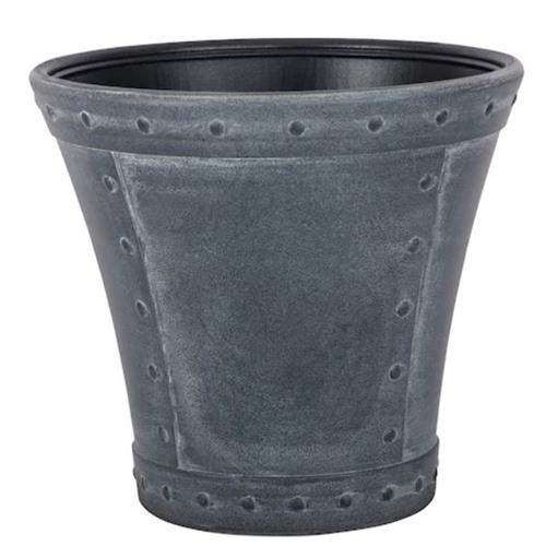 Wholesale RIVANNA 16 x 14 PLANTER ZINC