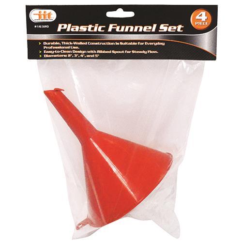 Wholesale 4 PC Plastic Funnel Set