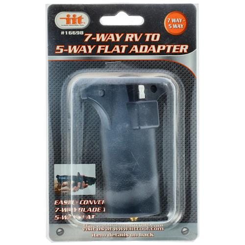 Wholesale 7-Way RV to 5-Way Flat Adapter