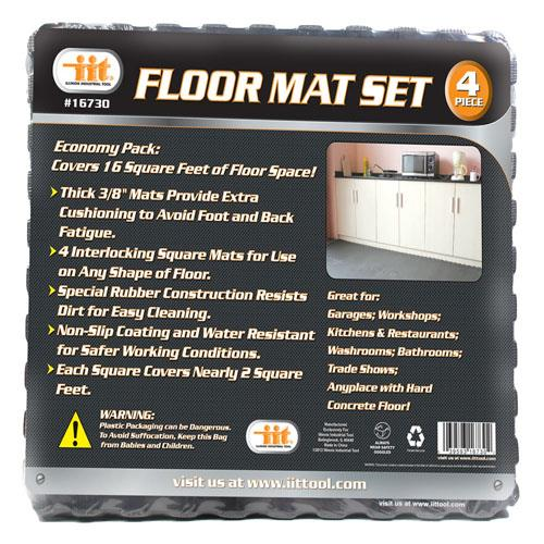 "Wholesale 4 PACK SHOP FLOOR MAT 22""x22"""