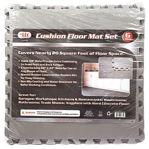 """Wholesale 6 PACK SHOP FLOOR MAT 22x22"""""""