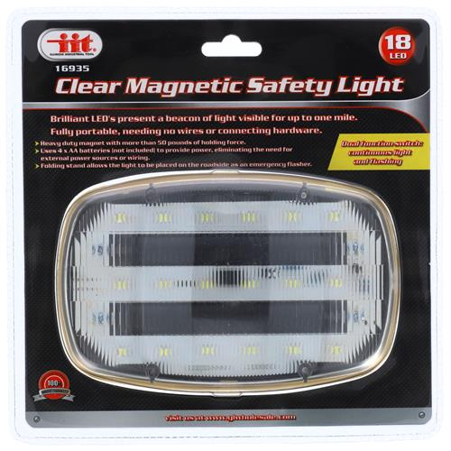 Wholesale CLEAR MAGNETIC LED SAFETY LIGHT