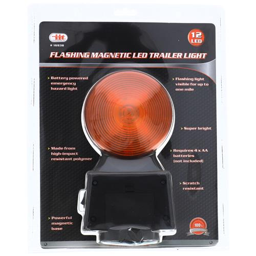 Wholesale MAGNETIC TRAILER LIGHT - BATTERY OPPERATED