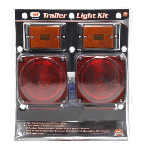 Wholesale 12 VOLT TRAILER LIGHT KIT DOT