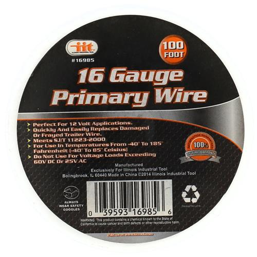 Wholesale 100' 16 GAUGE PRIMARY WIRE