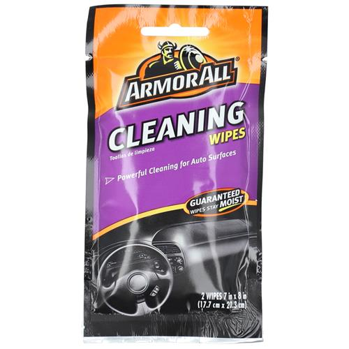 """Wholesale 2ct ARMOR ALL CLEANING WIPES 7x8"""""""