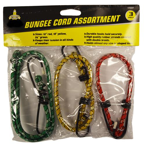 Wholesale 3pc BUNGEE STRAPS