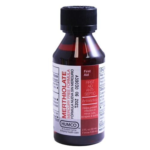 Wholesale MERTHIOLATE TINCTURE 2OZ - PACK 12