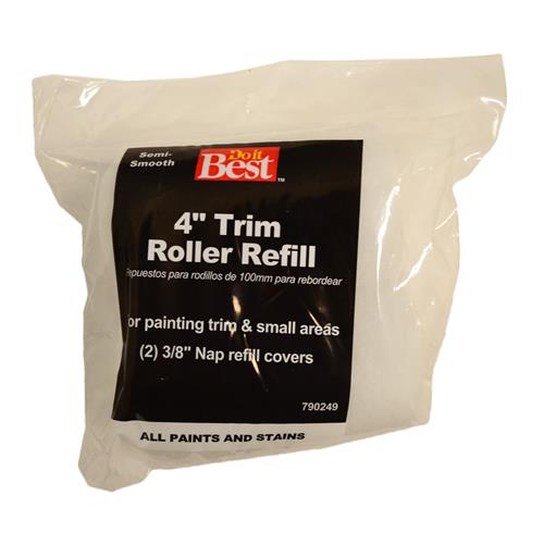 "Wholesale 2pk 4"" ROLLER COVERS 3/8"" NAP"