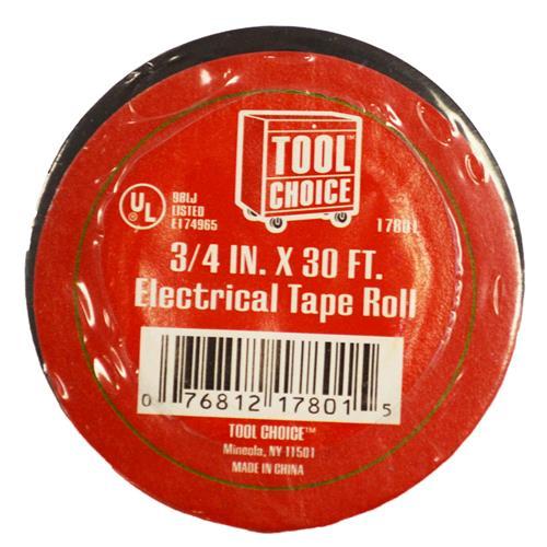 "Wholesale 3/4""x30' ELECTRICAL TAPE U/L B"
