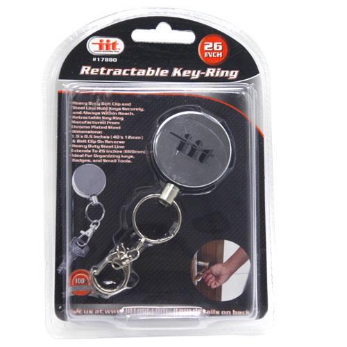 Wholesale RETRACTABLE KEY CHAIN REEL