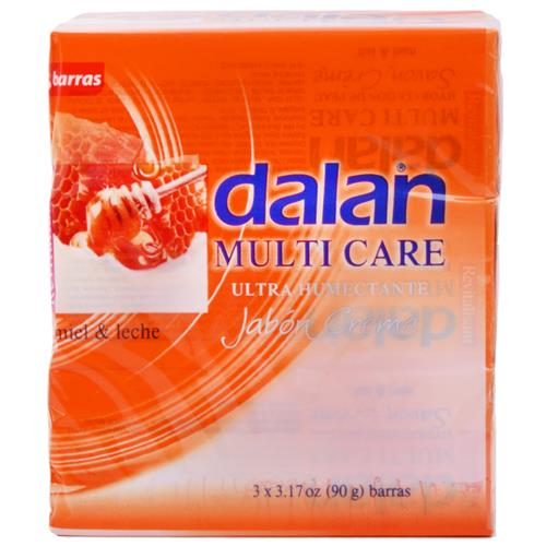Wholesale Dalan Multi Care Honey & Milk Creamy Bar Soap 3.2