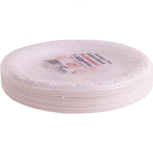"Wholesale BPA Microwave Safe Plastic Plate 6"""""""" Snack/Dessert"