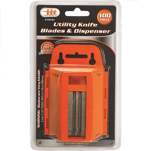 Wholesale 100PC Utility Knife Blades & Dispenser