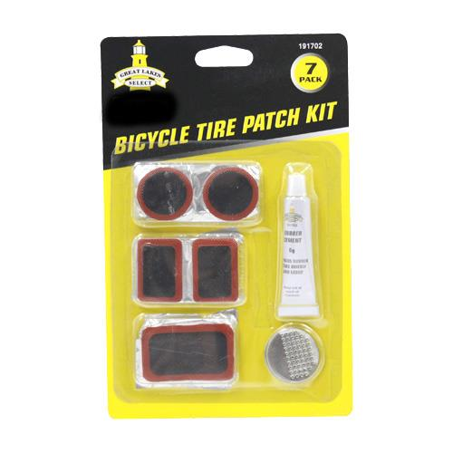 Wholesale 7pk BICYCLE TIRE PATCH KIT