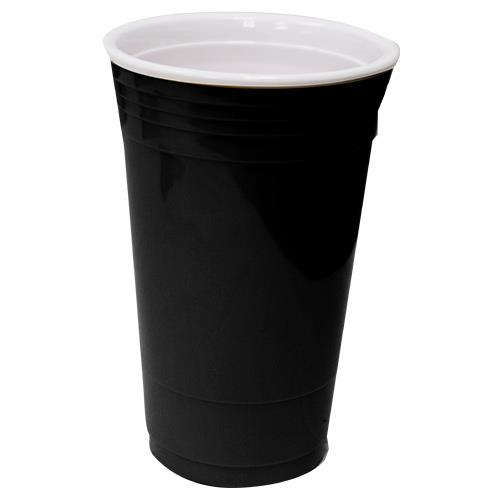 Wholesale 16OZ DOUBLE INSULATED CUP BLACK