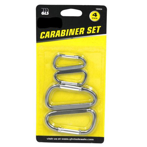 Wholesale 4pc CARABINER SET
