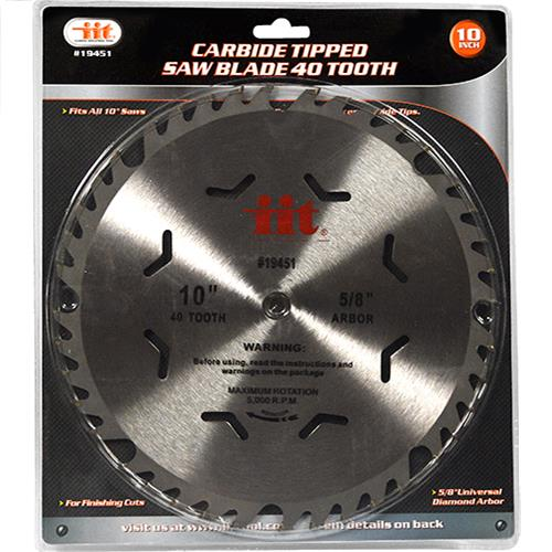 "Wholesale 10"" Carbide Saw Blade 40 tooth"