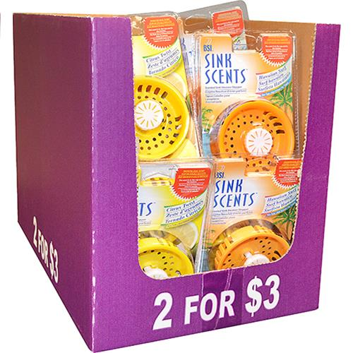 Wholesale Sink Scents-Scented Plastic Si