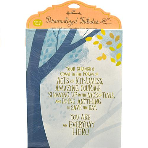 Wholesale EVERYDAY HERO FRAMED SENTIMENT