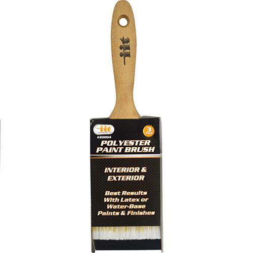 "Wholesale 3"" Polyester Paint Brush Wood Handle"