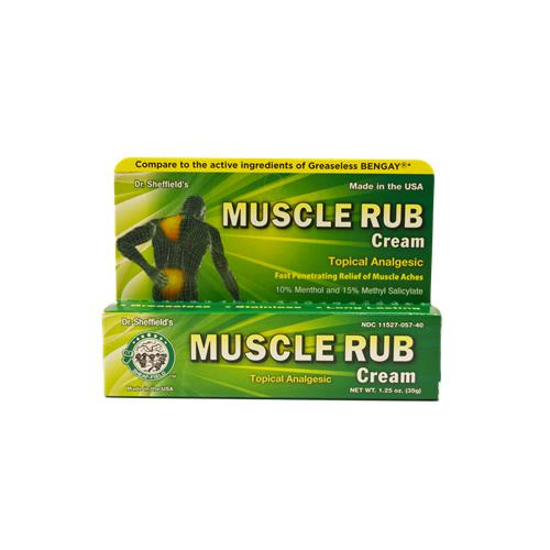 Wholesale Sheffield's Analgesic Muscle Rub Cream
