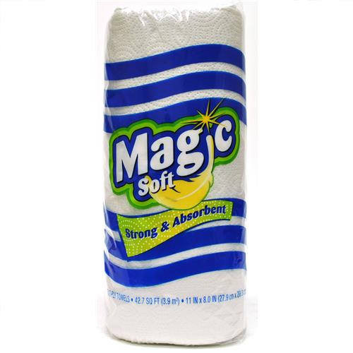 Wholesale Magic Soft Paper Towel 2-ply 70 Sheets