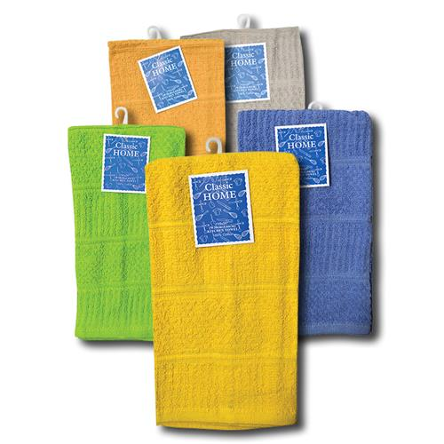 "Wholesale Soild Color Kitchen Towel 15"" x 25"" 6 Assorted Color"