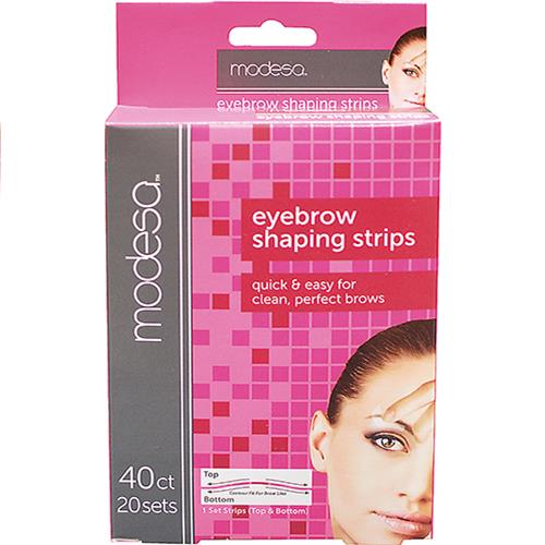 Wholesale Z40ct EYEBROW SHAPING STRIPS