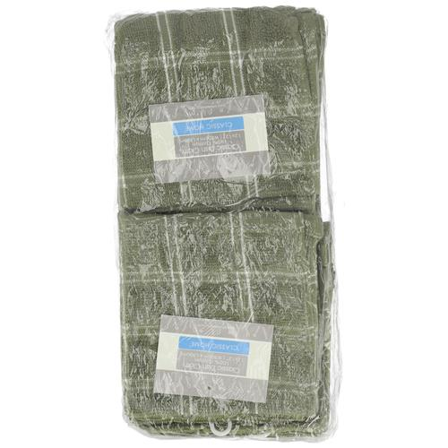 """Wholesale Heavy Dyed Dish Cloth  12"""" x 12"""" 2 Pack Assorted Colors"""