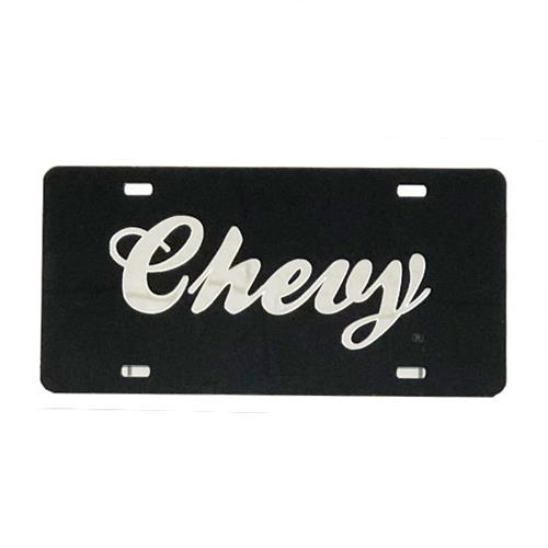 Wholesale CHEVY SCRIPT ACRYLIC INLAY TAG