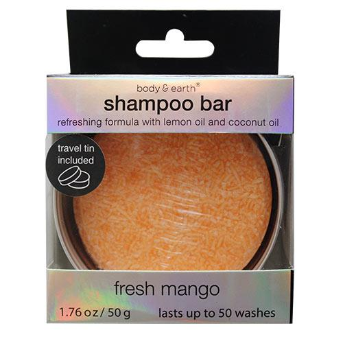 Wholesale SHAMPOO BAR IN TIN FRESH MANGO