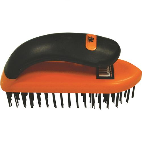 Wholesale Soft Grip Steel Scrub Brush