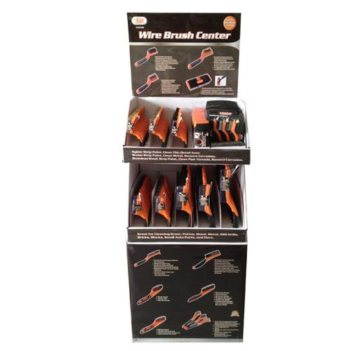 Wholesale 100pc WIRE BRUSH ASST DISPLAY