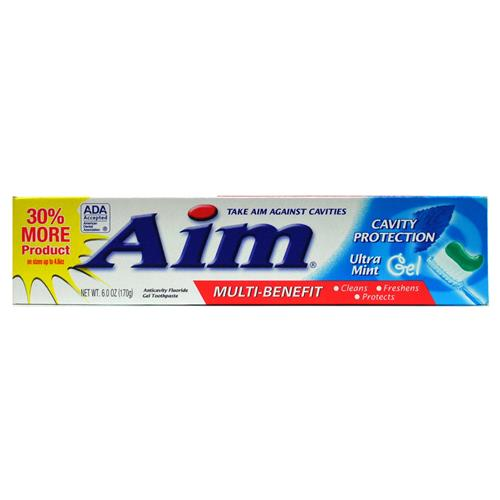 Wholesale Aim Cavity Protection Ultra Mint Toothpaste