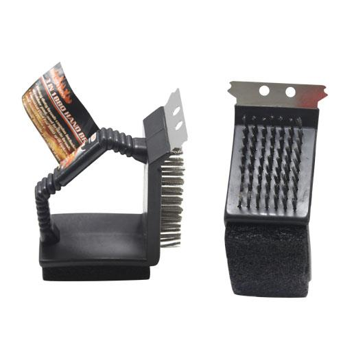 Wholesale 3-in-1 BBQ HAND BRUSH