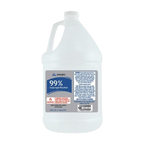 Wholesale Swan 99% Iso Alcohol 1 gallon (USA)