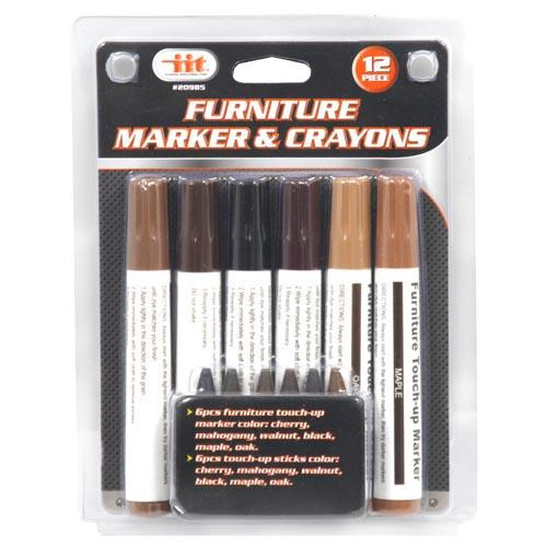 Wholesale 6pc FURNITURE MARKER & CRAYONS