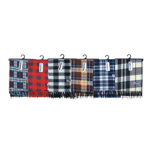 Wholesale Scarf Plaid Cashmere Feel Winter Assorted