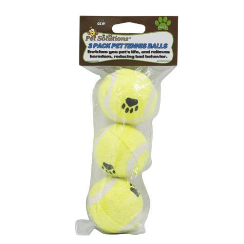 "Wholesale Tennis Balls 3 pack 2"" Dog Toy"